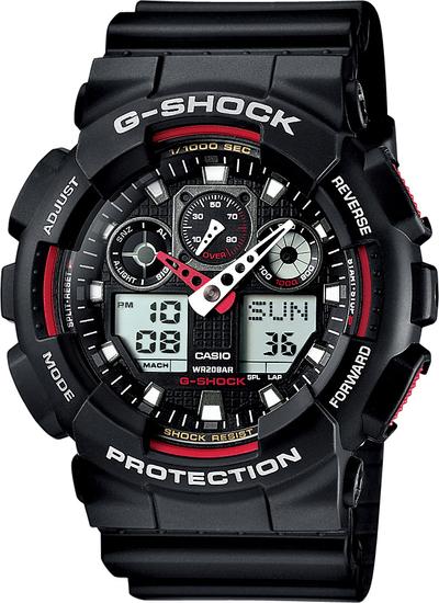 CASIO G-SHOCK G-CLASSIC GA 100-1A4