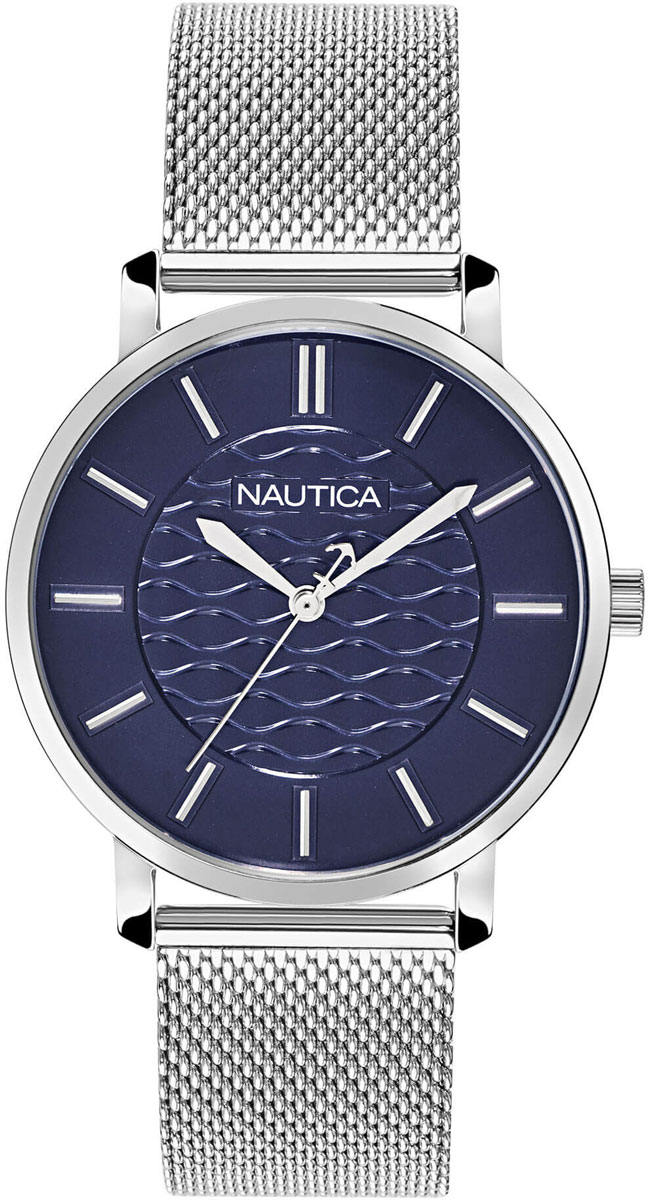NAUTICA CORAL GABLES STAINLESS STEEL WATCH BOX SET NAPCGP907